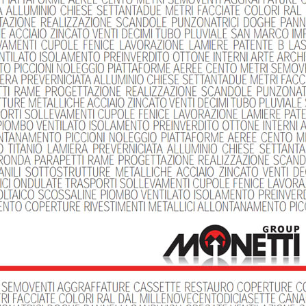 Monetti Group Catalogo Generale