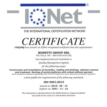 ISO 9001:2008 IQNET